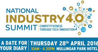 FAST will be at the National Industry 4.0 summit in Mullingar
